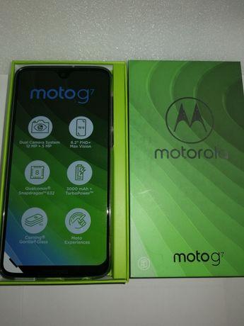 Smartfon Motorola G7 4/64GB. Nowy, nieużywany, gwarancja. Okazja!