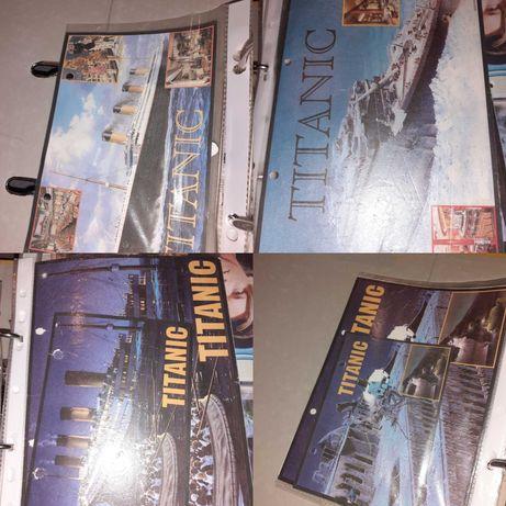 Tytanic, kolekcja karteczek do segregatora