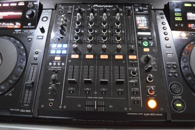 Mikser Pioneer DJM 900 Nexus + Torba UDG Nowa Pioneer + Decksaver.