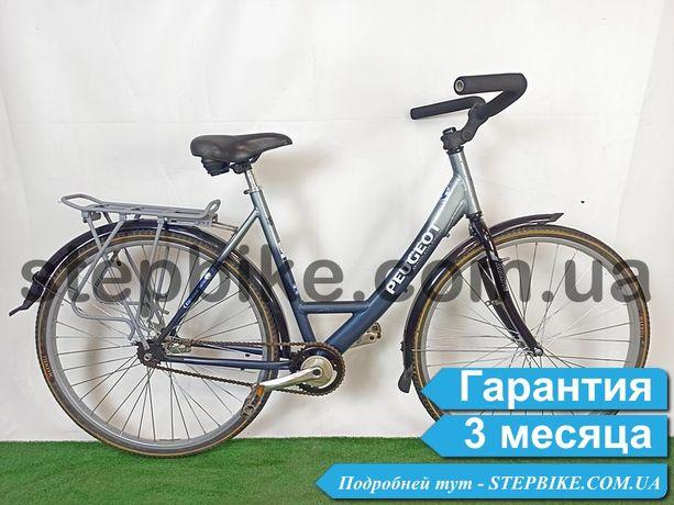 Велосипед Городской Алюминиевый из Германии Peugeot ножной тормоз