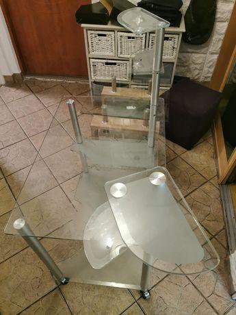 Biurko szklane stolik