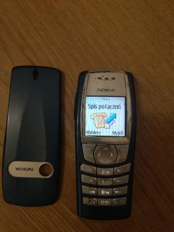 Telefon Nokia 6610i, ładowarka, bateria, słuchawki