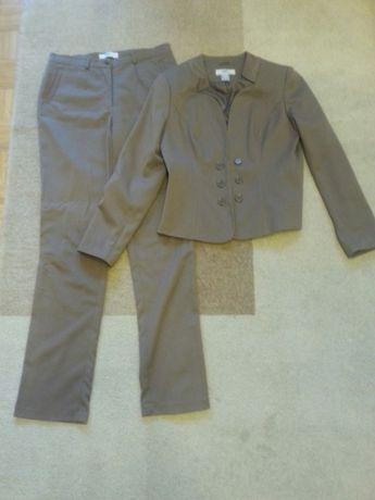 Garnitur damski żakiet spodnie 42