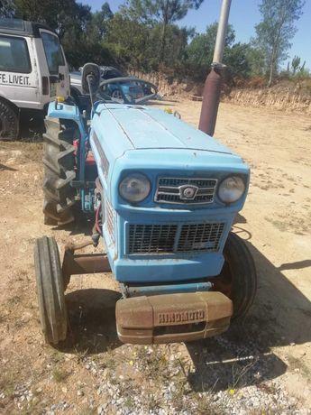 Tractor Hinomoto E16 diesel com fresa sem documentos