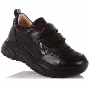 Черные кожаные кроссовки Tutubi 35 размер Турция