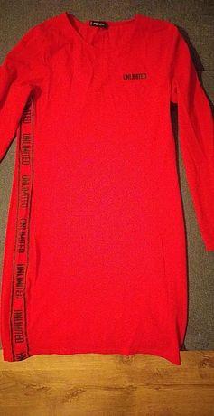 Sukienka czerwona xl
