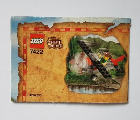 Instrukcja Lego 7422 Orient Expedition