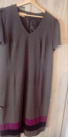 Szara sukienka 46