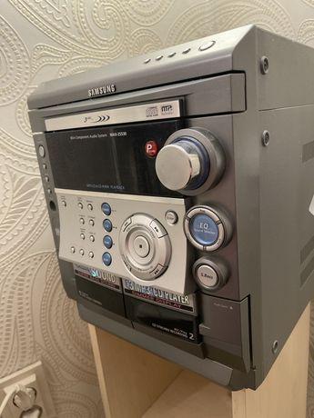 Wieża Samsung MAX-ZS530, 3 czytniki CD i 2 kaset