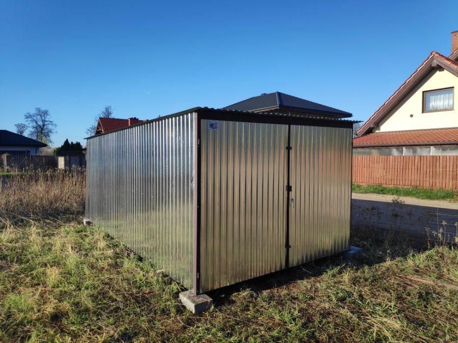 3x5 m BLASZAK garaż blaszany MAGAZYN schowek dostawa i montaż GRATIS Sochaczew - image 1