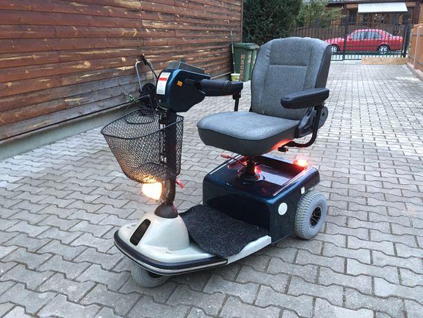 Wózek elektryczny dla seniora inwalidzki Travelux