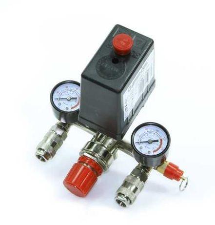 Presostat Wyłącznik włącznik do kompresora sprężarki 8 bar MarPol 230V