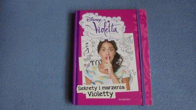 Sekrety i marzenia Violetty książka jak nowa