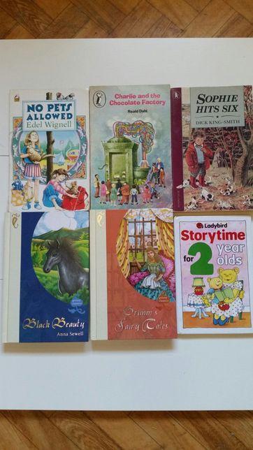 Książki część 13 PO ANGIELSKU ANGLOJĘZYCZNE dla dzieci