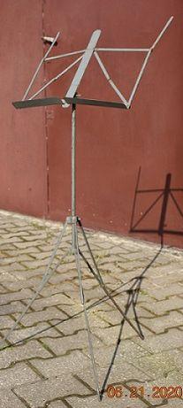 składany ,metalowy stojak na nuty