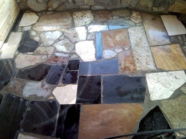 Granit płytki, kostka, oflis do ogrodu, na chodnik, taras