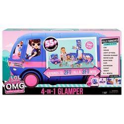 Игровой набор LOL Сюрприз - Автобус Глемпер 2020 Glamper ЛОЛ Автобус