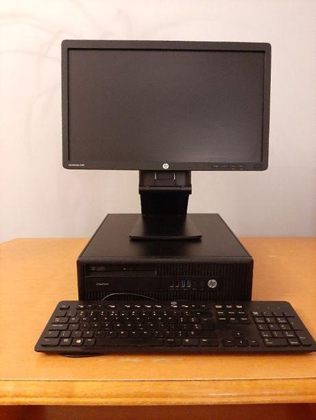 Zestaw HP EliteDesk 800 G2+ HP E201+Win10