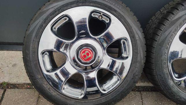 Koła 5x120 ET61 Bentley Azure Arnage Chrom 235/50/18