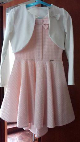 Sukienka z bolerkiem 140