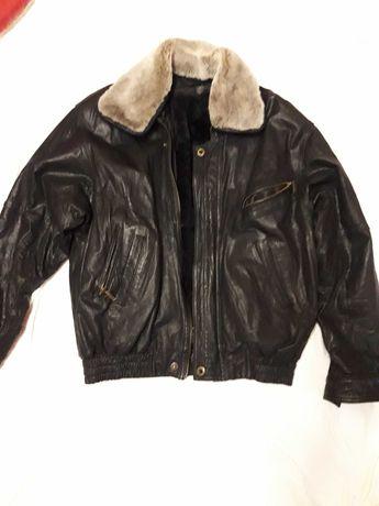 Кожаная куртка 2 в 1