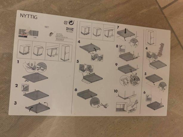 IKEA NYTTIG - Ochraniacz podłogi - 4 szt.