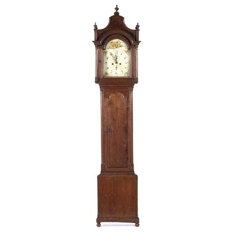 Relógio Caixa Alta Castanho