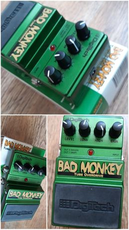 przester Digitech Bad monkey tube overdrive alternatywa dla Ibanez ts9