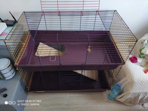 Piętrowa duża klatka dla królika