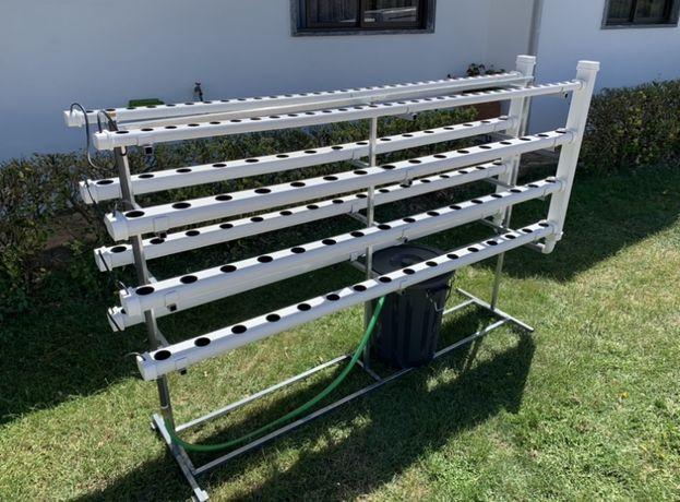Hidroponia - Kit Vertical Amovível para 160 Plantas - Loja Oficial