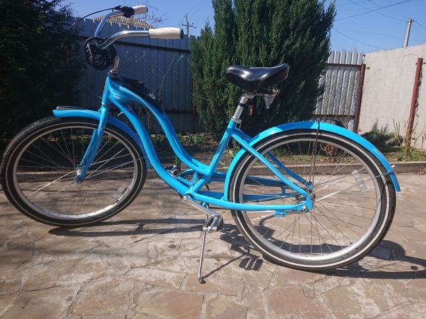 """Велосипед 26"""" Schwinn Debutante Women blue"""