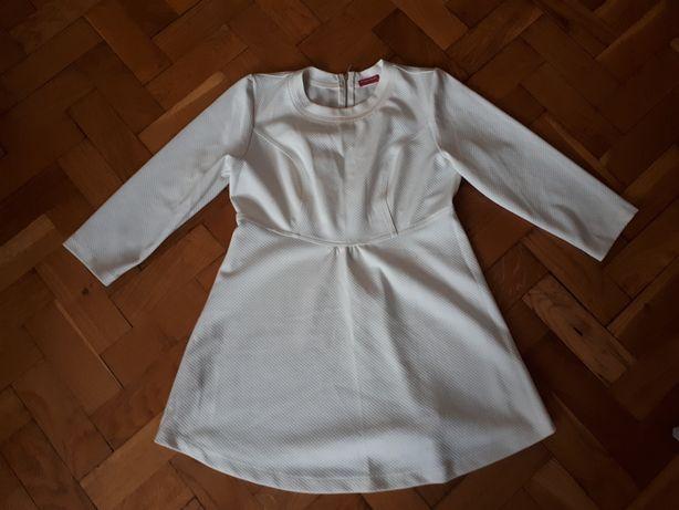 Biała bluzeczka ciążowa marki Happymum