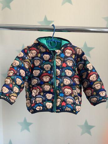 Теплая демисезонная куртка next, 92 размер(полтора-два года)