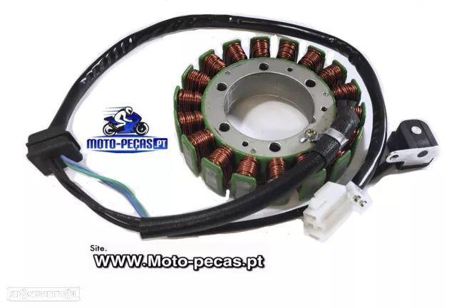 Stator suzuki dl 1500 intruder dl1500 gerador alternador bobinagem