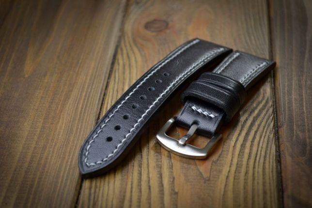 Кожаный ремешок для часов из итальянской кожи ручной работы,