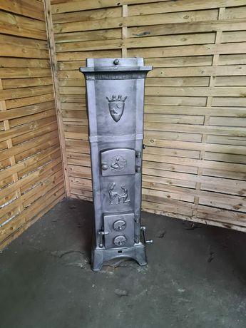 Norweski Piec żeliwny Eidsfos Verk koza kominek Jotul