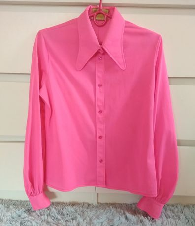 Koszula neon pink różowa Pippa Dee 34XS/36S