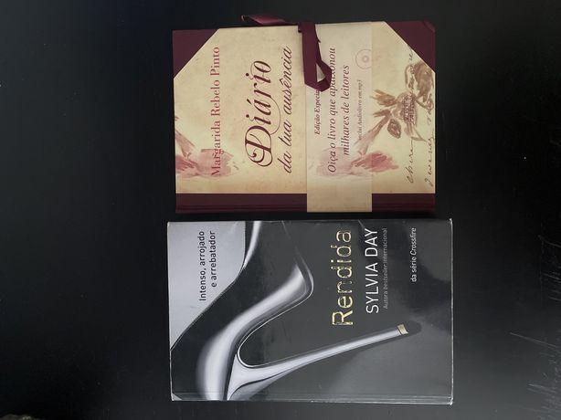 Livros Rendida e Diário da Tua Ausência
