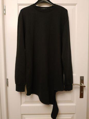 Bluza długa AQ/AQ dla mężczyzn asymetryczny krój Tank Sweatshirt NOWA