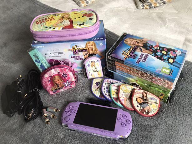 Vendo PSP + acessorios Hannah Montana