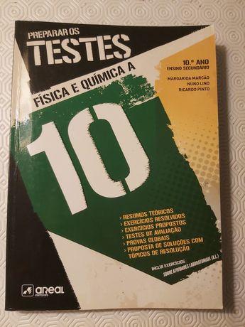 Preparar os Testes 10⁰ Fisica e Quimica A