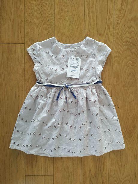 NOWA 98 sukienka sukieneczka Zara koronkowa