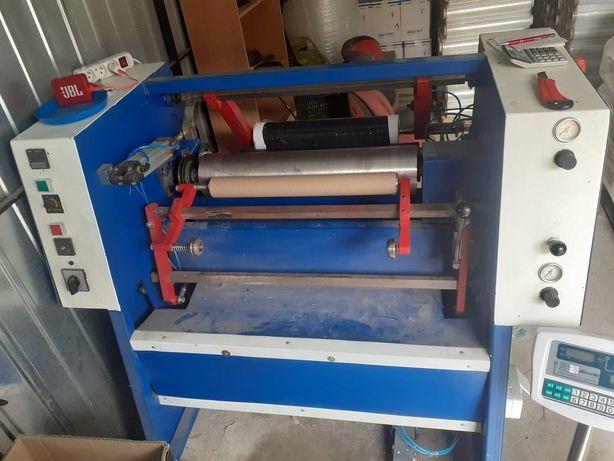Półautomat Maszyna do przewijania folii stretch przewijarka strecz