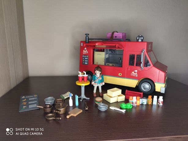 Playmobil zestaw 70075 food truck