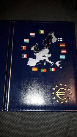 Coleção capa moedas fundadores zona euro e União europeia 2002