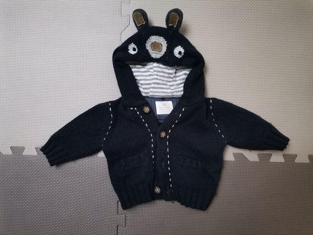 Sweterek Next baby 3-6 mies.