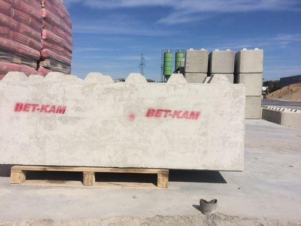 Bloki betonowe , klocki lego 180x60x60