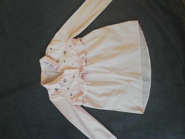 Bluzka koszula dziewczęca Reserved 128