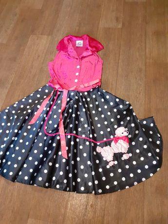 Костюм, Платье кукла Барби, стиляга,на взрослого, S, Magic design BVBA