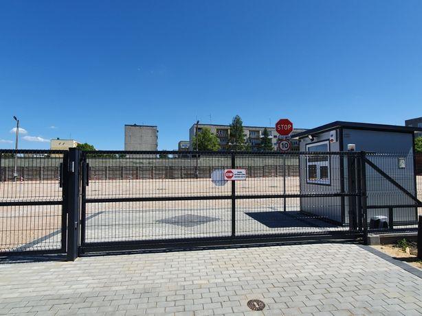 Miejsca parkingowe, monitorowane - os. Bugaj ul. Smugowa